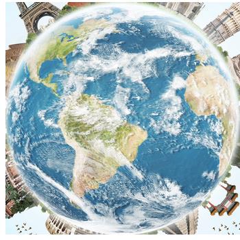Globe Homepage Transparent