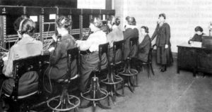 telephone operators world war I